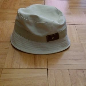 Nwt Gap White Canvas Bucket Hat sz S/M